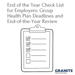 End of the Year Check List for Employers_ Group Health Plan Deadlines and End-of-the-Year Review